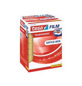 Tesa Tesafilm transparante tape, ft 19 mm x 66 m, 8 rolletjes