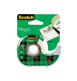 Scotch Scotch plakband Magic Tape ft 19 mm x 15 m