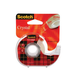 Scotch Scotch Plakband Crystal ft 19 mm x 15 m [12st]