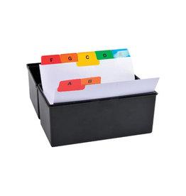 Exacompta Exacompta tabbladen voor systeemkaartenbakken, 25 tabs ft A7