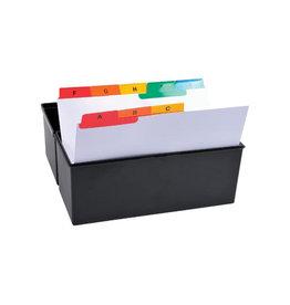 Exacompta Exacompta tabbladen AZ voor systeemkaartenbakken 25 tabs A6