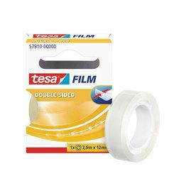 Tesa Tesafilm Double-Sided, ft 7,5 m x 12 mm [12st]