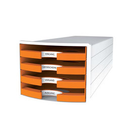 Han Han ladenblok Impuls, open laden, Trend Colour oranje