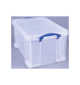 Really Useful Box Really Useful Box 48l. transparant per st. verpakt in karton