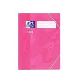Oxford Oxford Touch elastomap uit karton, ft A4, roze [10st]