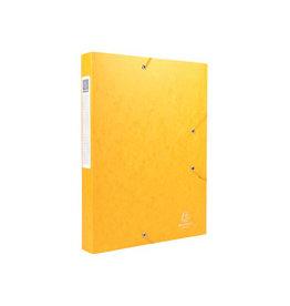 Exacompta Exacompta Elastobox Cartobox rug 4cm, geel, kwaliteit 7/10e