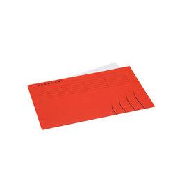 Jalema Jalema Secolor dossieromslag folio (22,5x34,8cm) rood [25st]