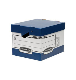 Fellowes Bankers Box archiefdoos formaat 33,3x29,2x40,4cm bl. [10st]