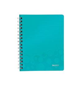 Leitz Leitz WOW schrift ft A5, geruit 5 mm, ijsblauw