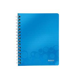 Leitz Leitz WOW schrift ft A5, geruit 5 mm, blauw