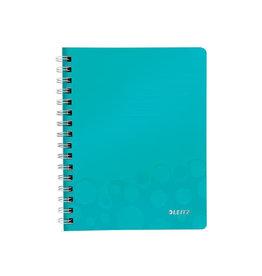 Leitz Leitz WOW schrift ft A5, gelijnd, ijsblauw