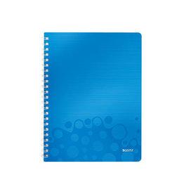 Leitz Leitz WOW schrift ft A4, geruit 5 mm, blauw