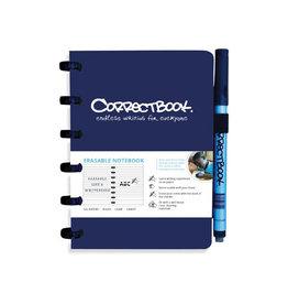 Correctbook Correctbook A6 gelijnd herbruikbaar notitieboekje, blauw