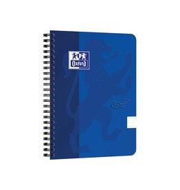 Oxford Oxford Touch spiraalblok A5 140 bladzijden blauw [5st]