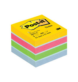Post-it Post-It Notes Mini Kubus Ultra, 400 blaadjes, ft 51 x 51 mm