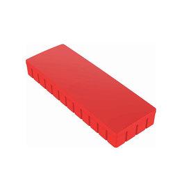 Maul Maul magneet MAULsolid, ft 54 x 19mm, rood, doos van 10st