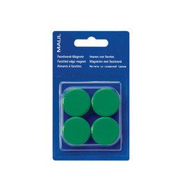 Maul Maul magneet MAULsolid, 32mm, groen, blister van 4st