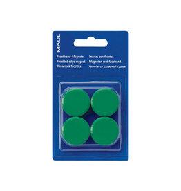 Maul Maul magneet MAULsolid, 20mm, groen, blister van 8st