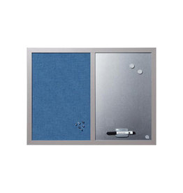 Bi-Office Bisilque Combinatiebord blauw
