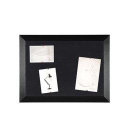 Bi-Office Bisilque Notitiebord Kamashi met zwart kader