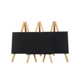 Securit Securit tafelkrijtbord Mini, ft 24 x 15 cm, beuk, pak van 3
