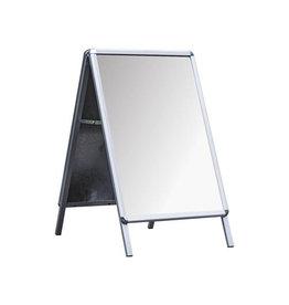 Deflecto Deflecto stoepbord ft A1, uit aluminium