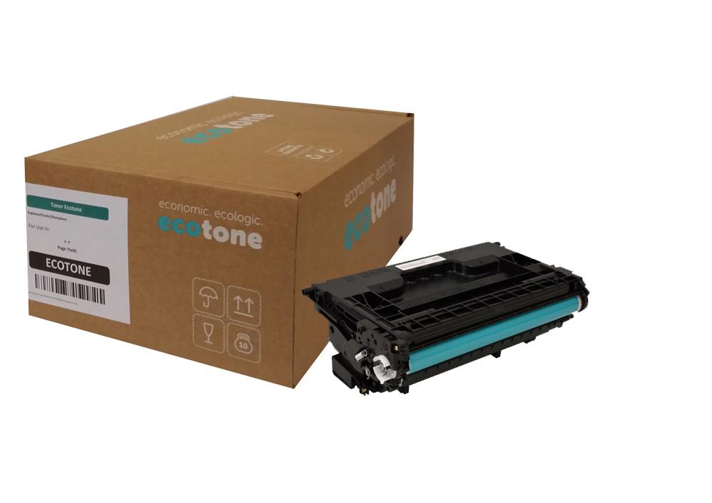 Ecotone HP 37X (CF237X) toner black 25000 pages (Ecotone)