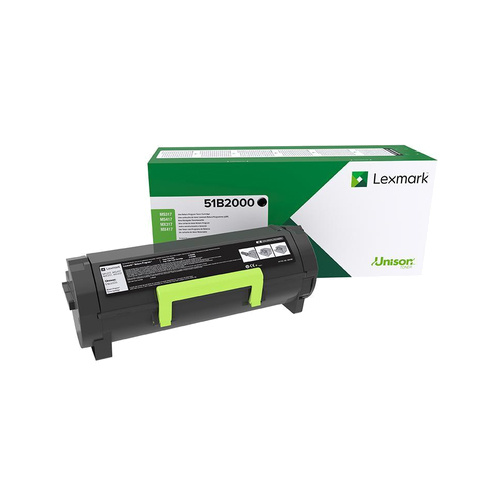 Lexmark Lexmark 51B2000 toner black 2500 pages (original)
