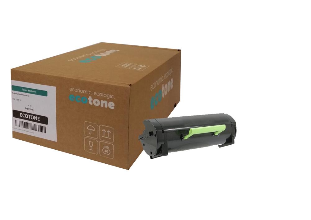 Ecotone Lexmark 51B2X00 toner black 20000 pages (Ecotone)