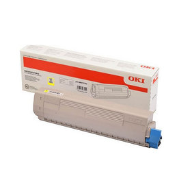 OKI OKI 47095701 toner yellow 5000 pages (original)