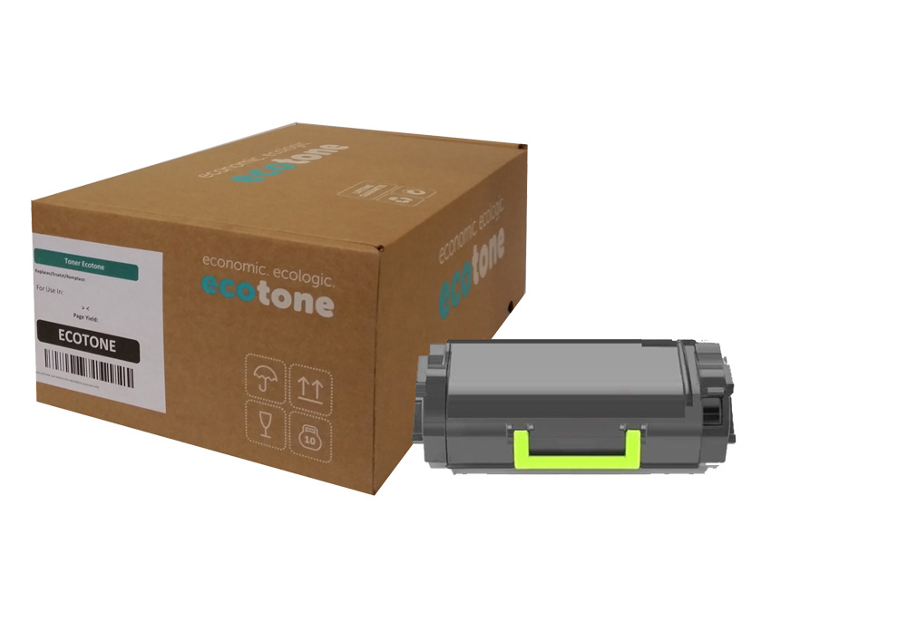 Ecotone Lexmark 53B2X00 toner black 45000 pages (Ecotone)