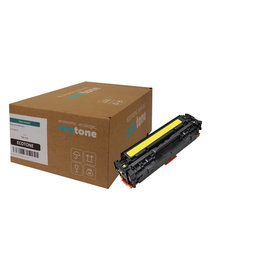 Ecotone HP 312A (CF382A) toner yellow 2700 pages (Ecotone)