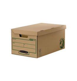 Fellowes Bankers Box Earth Series opbergdoos flip top maxi [10st]
