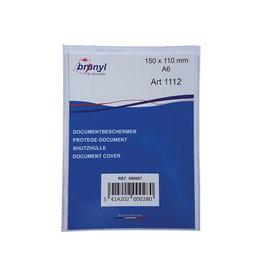 Bronyl Bronyl U-mapje uit transparante PVC van 180mic, ft A6 [10st]