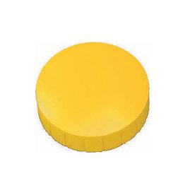 Maul Maul magneet MAULsolid, 38x15,5mm, geel, doos met 10st