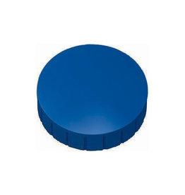Maul Maul magneet MAULsolid, 38x15,5mm, blauw, doos met 10st