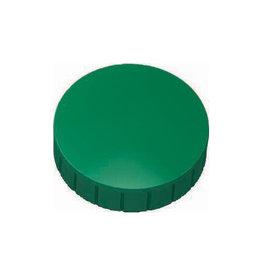 Maul Maul magneet MAULsolid, 38x15,5mm, groen, doos met 10st