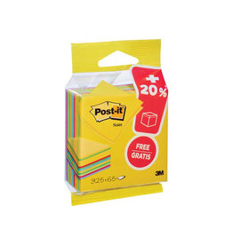 Post-it Post-it Notes kubus 76mmx76mm, Ultra, blok 325+65 vel gratis