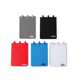 Atoma Atoma notitieboekje ft A7, geruit 5mm, geassorteerde kleuren