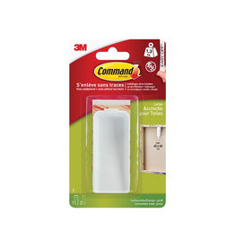Command Command canvas ophanghaak, wit, blister met 1 haak 2 strips