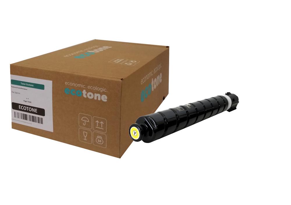Ecotone Canon C-EXV 55 (2185C002) toner yellow 18000p (Ecotone)