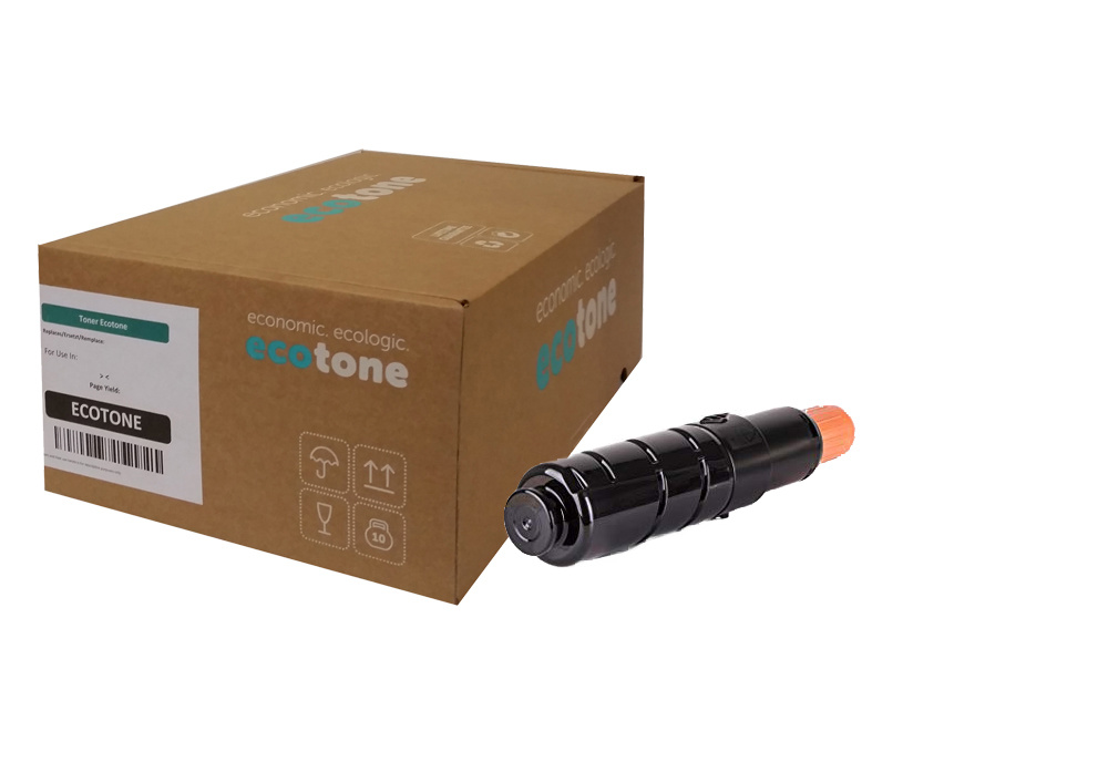 Ecotone Canon C-EXV 43 (2788B002) toner black 15200p (Ecotone)