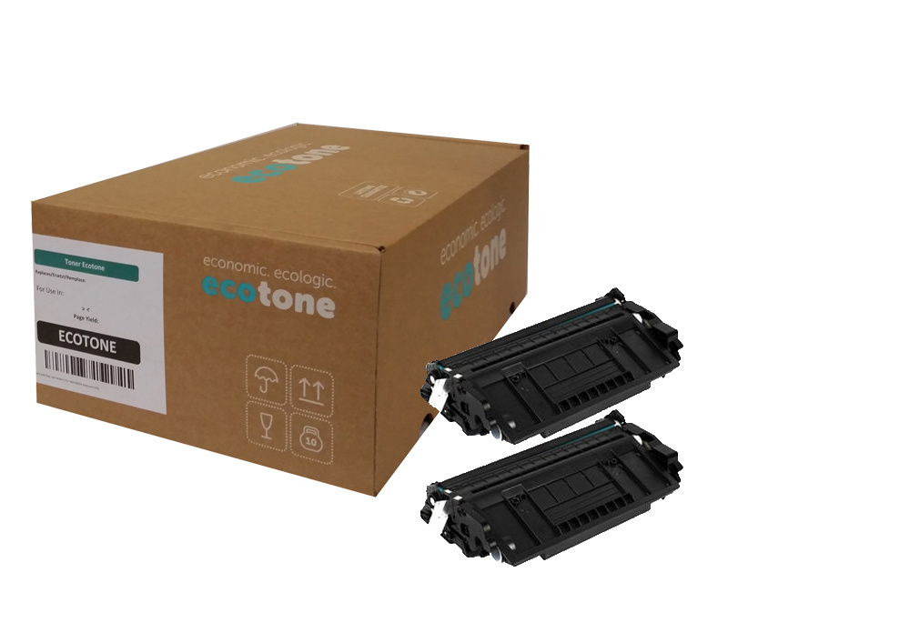 Ecotone HP 26X (CF226XD) duopack black 2x9000 pages (Ecotone)