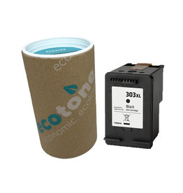 Ecotone HP 303XL (T6N04AE) ink black 600 pages (Ecotone)
