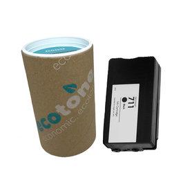 Ecotone HP 711 (CZ133A) ink black 80ml (Ecotone)