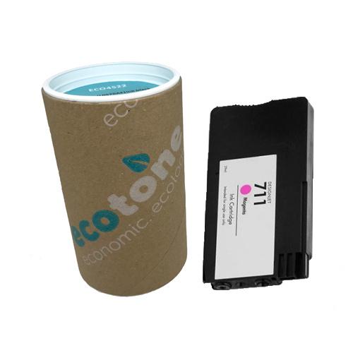 Ecotone HP 711 (CZ131A) ink magenta 29ml (Ecotone)