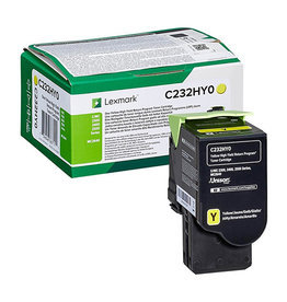 Lexmark Lexmark C232HY0 toner yellow 2300 pages (original)