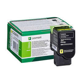 Lexmark Lexmark C2320Y0 toner yellow 1000 pages (original)