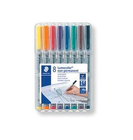 Staedtler Staedtler OHP-marker Lumocolor superfijn 0,4 mm, 8 st.
