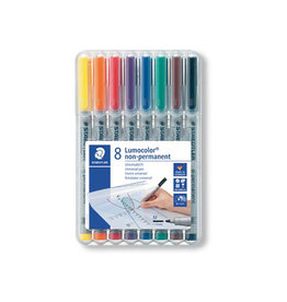 Staedtler Staedtler OHP-marker Lumocolor doos van 8 st.